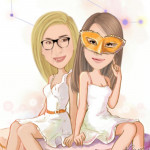 En compagnie de ma copine Jennifer